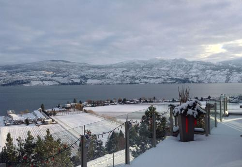 View from Guest Deck in Winter